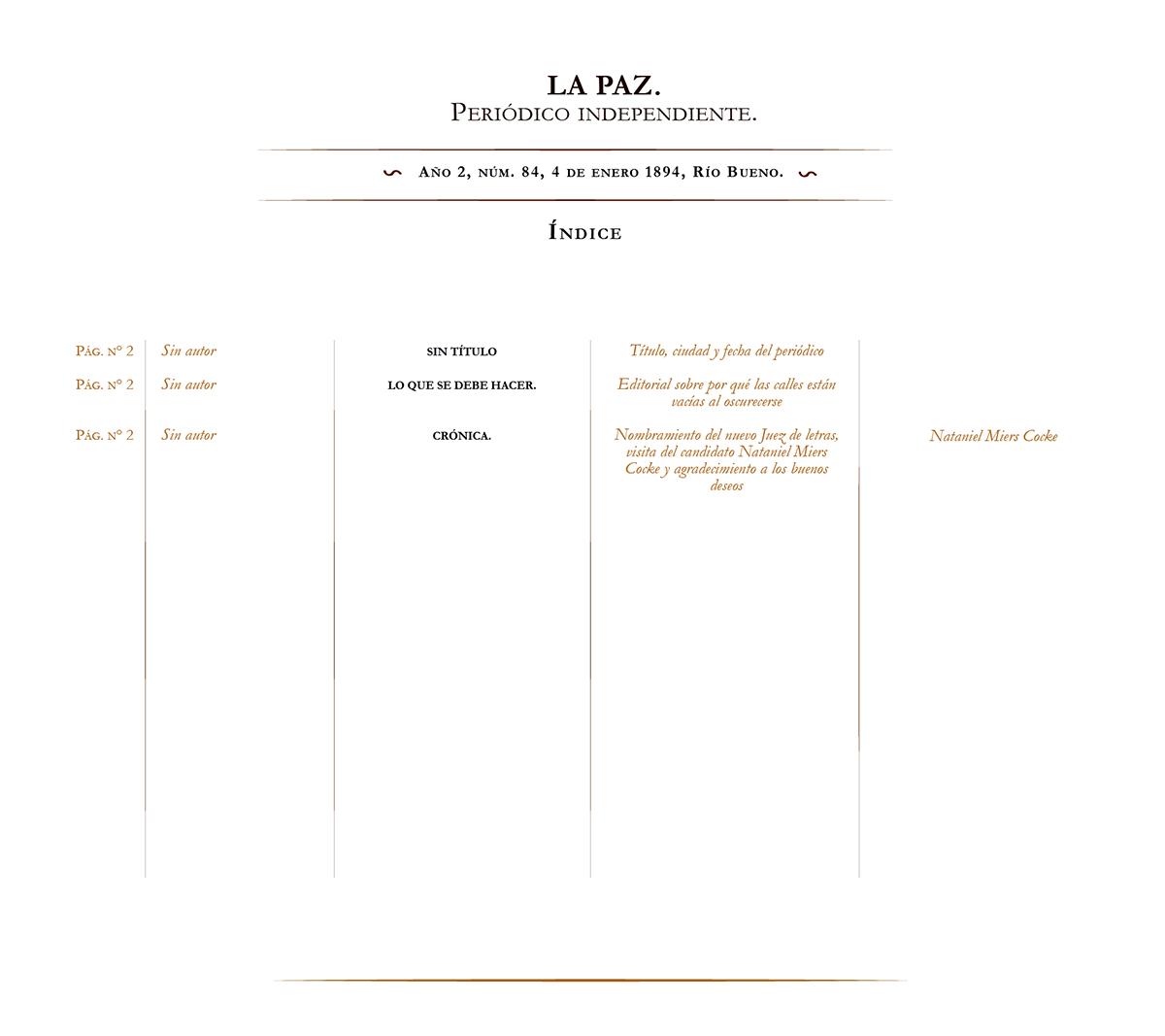 La Paz no. 84