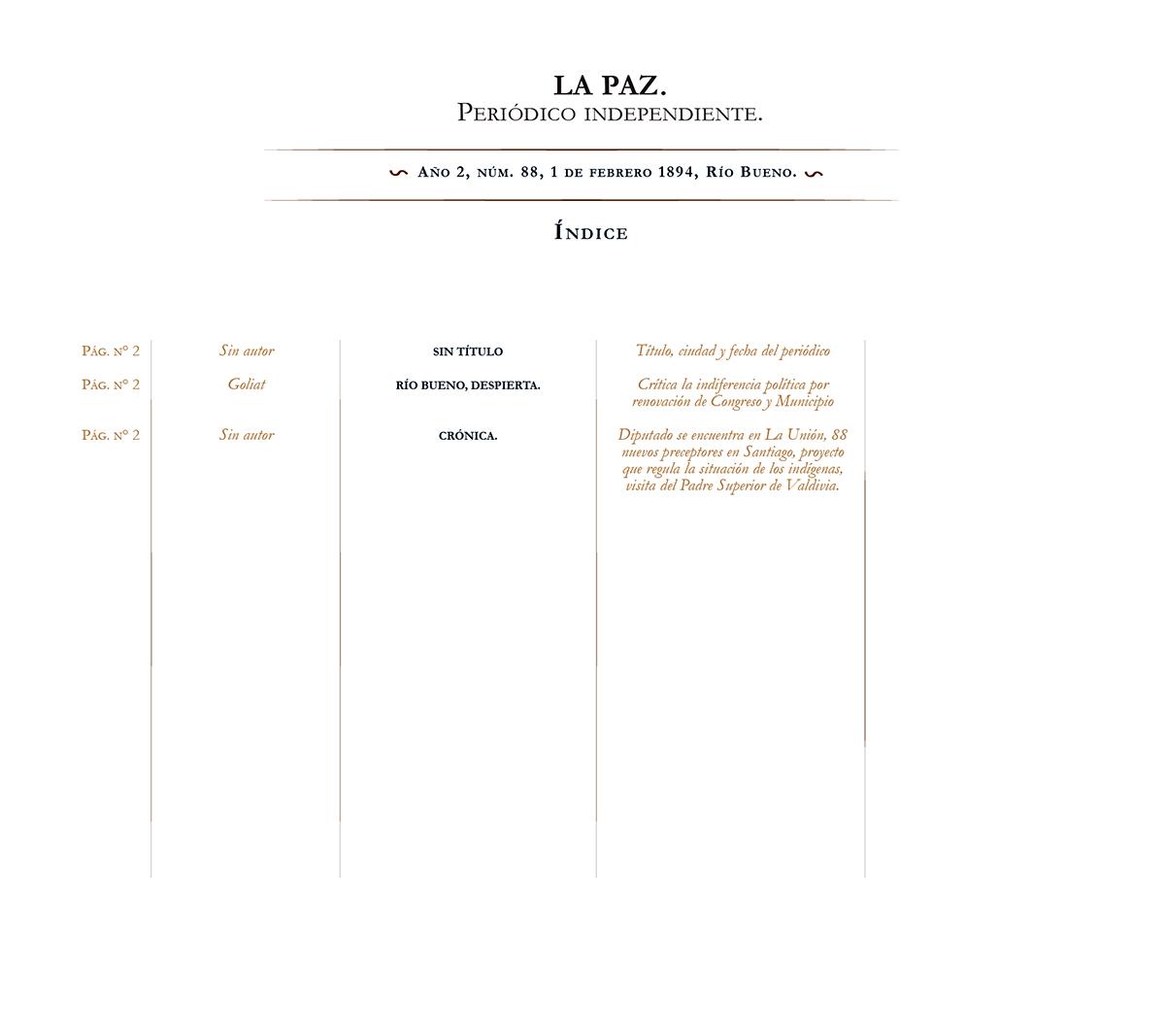 La Paz no. 88