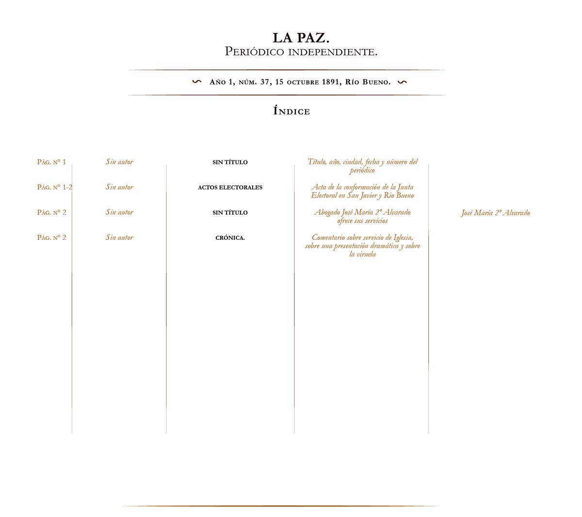 La Paz no. 37
