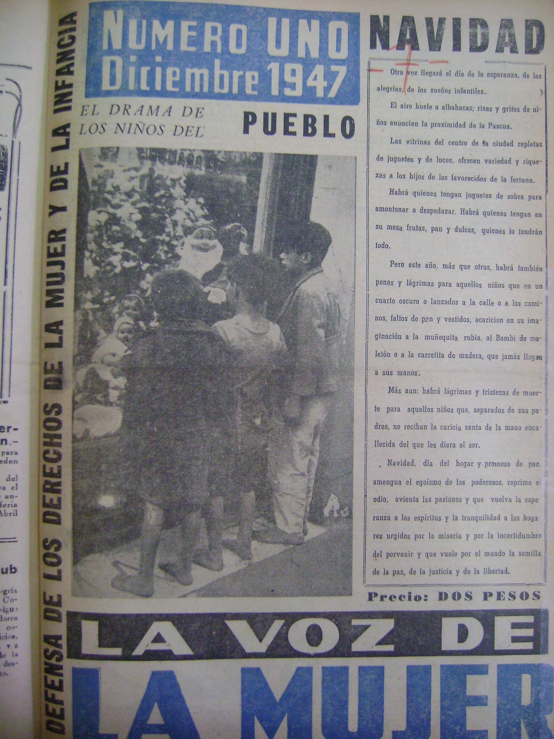 La Voz de la mujer 1947
