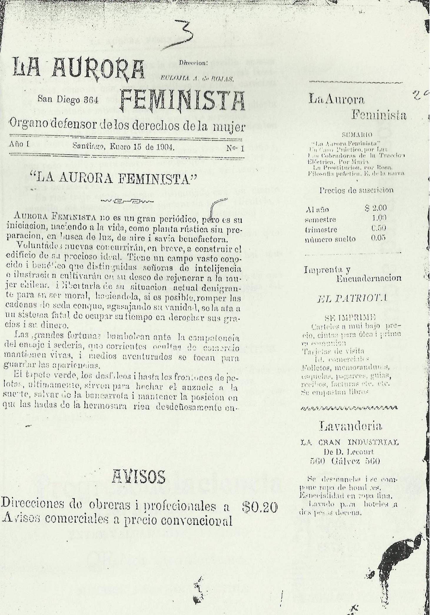 La Aurora Feminista