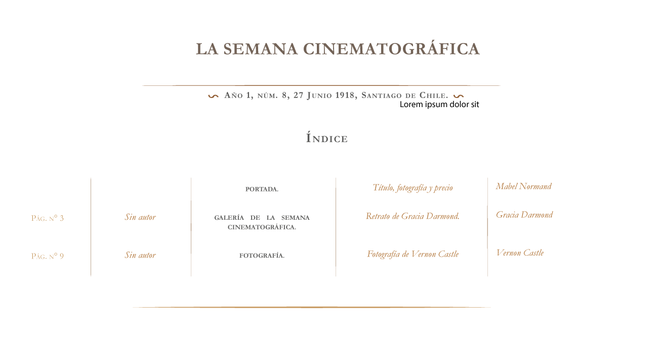 La Semana Cinematográfica nº 8